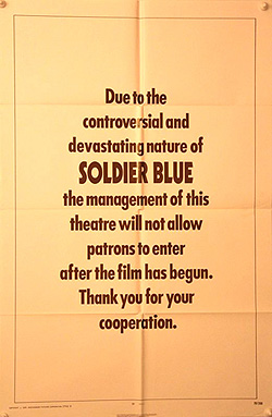 Soldier Blue One Sheet