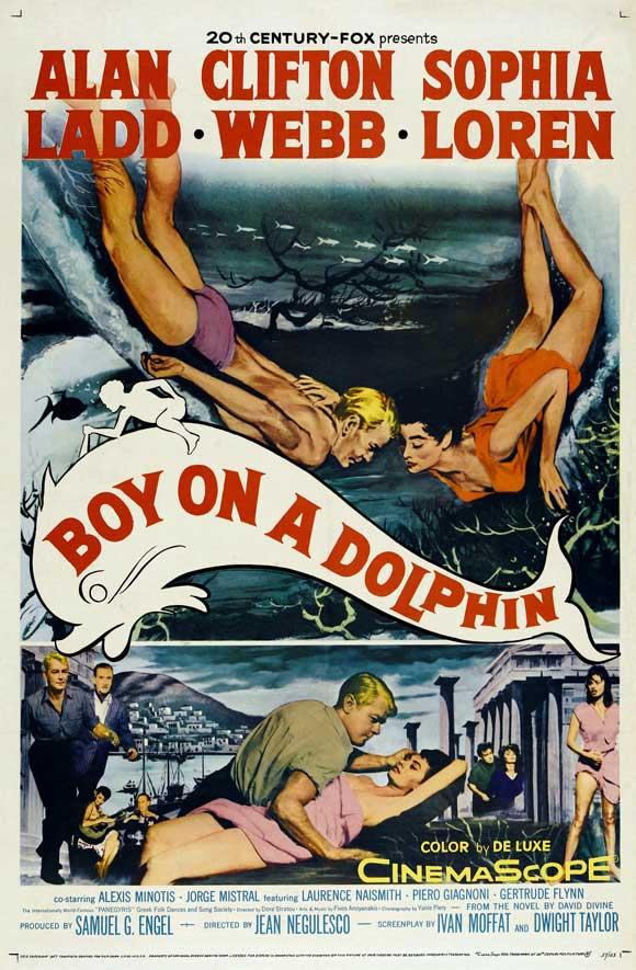 BoyOnADolphin_poster