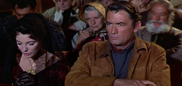 Gregory Peck, Henry King, and The Bravados (1958)
