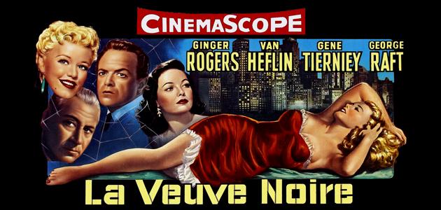 Melo-Noir: Black Widow (1954) + Slightly Scarlet (1956)